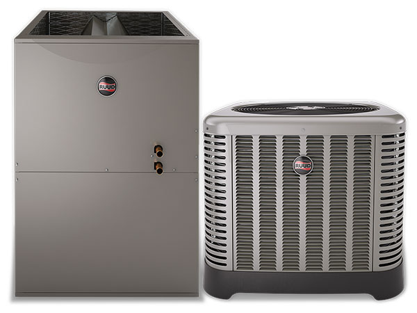 Ruud Hydronic air conditioner and air handler units